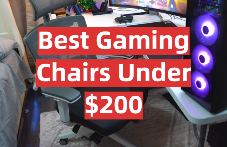 5 Best Gaming Chairs Under $200