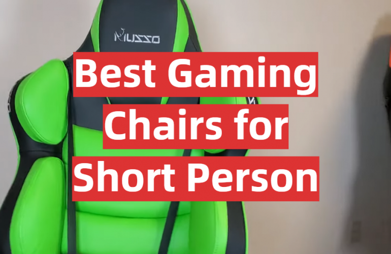 5 Best Gaming Chairs for Short Person