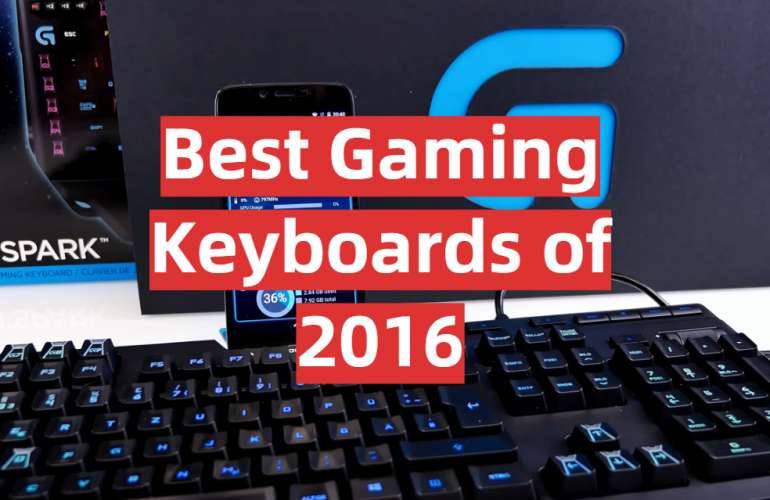 5 Best Gaming Keyboards of 2016