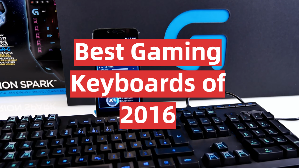 Best Gaming Keyboards of 2016