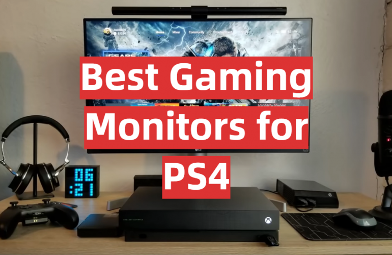 5 Best Gaming Monitors for PS4