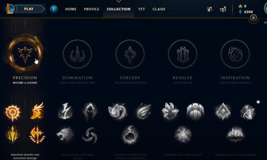 Precision Runes