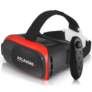 VR Headset Compatible with iPhone and Android Phones