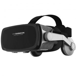 VR Headset,Virtual Reality Headset,VR SHINECON VR Goggles for Movies, Video,Games