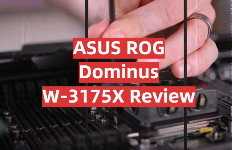 ASUS ROG Dominus W-3175X Review