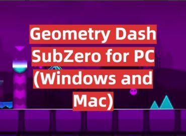 Download Geometry Dash SubZero for PC (Windows and Mac)