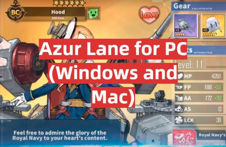 Download Azur Lane for PC (Windows and Mac)